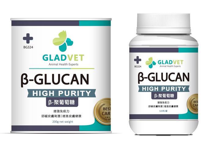 β- GLUCAN , β-聚葡萄糖(粉劑/膠囊)
