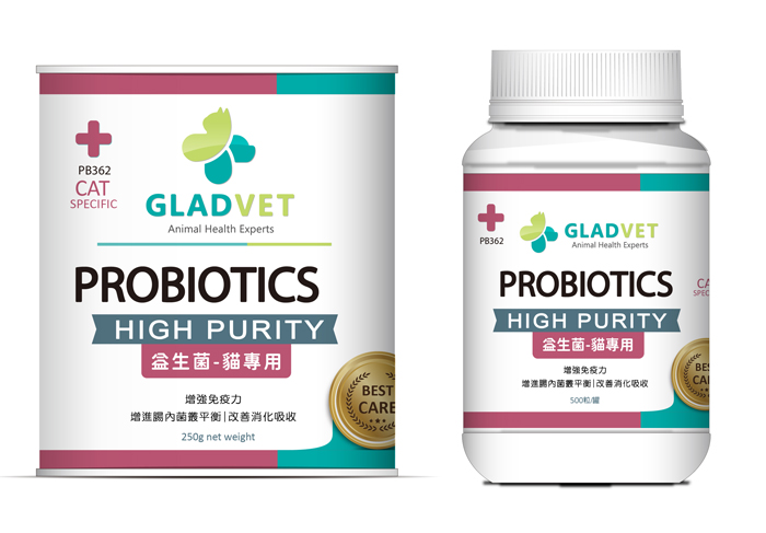 PROBIOTICS , 貓用益生菌(粉劑/膠囊)